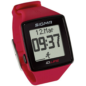 SIGMA SPORT ID.Life Heart Rate Monitor red